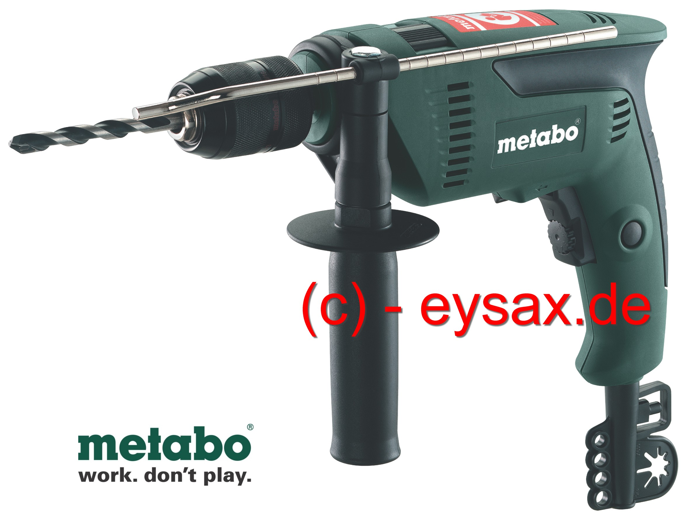 metabo 600 watt elektronik schlagbohrmaschine bohrmaschine sbe 600 r l ebay. Black Bedroom Furniture Sets. Home Design Ideas