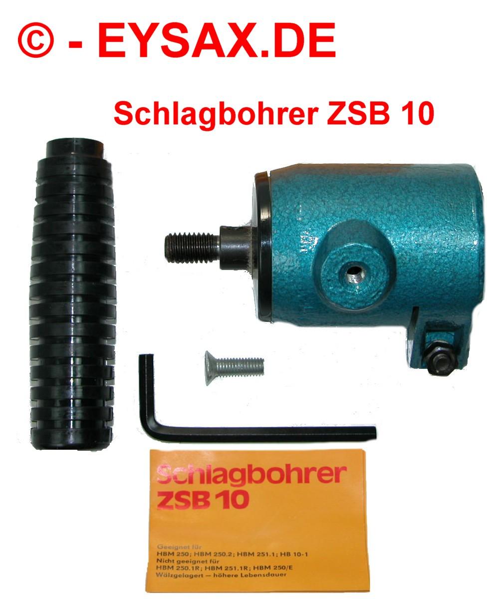 schlagbohrer zsb 10, für handbohrmaschinen, original smalcalda | ebay